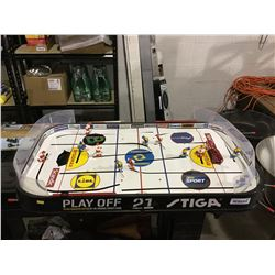 Stiga NHL Stanley Cup Hockey Game Tabletop Size