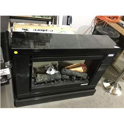 "DimplexSlater Electric Fireplace - Model: DCF44B - (34 11/16""H x 43 7/8"" W x 11 5/8"" D)"