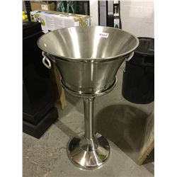 Stainless Steel Beverage Tub w/ Stand