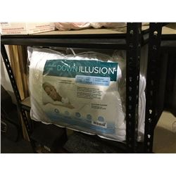 Down Illusion Queen Size Pillow