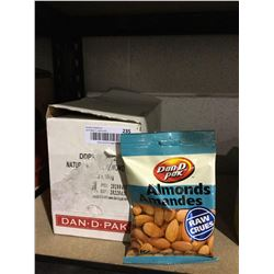 Case of Dan D Pak Raw Almonds (11 x 100g)