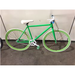GREEN NO NAME SINGLE SPEED FIXED GEAR BIKE