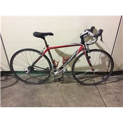 RED & BLACK SPECIALIZED 20-SPEED ROAD BIKE