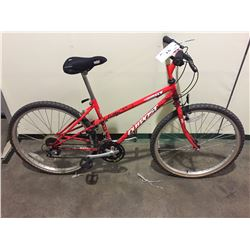 RED OUTPOST GT 21-SPEED HARD TAIL BIKE