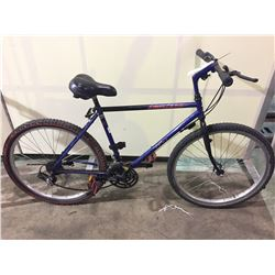 BLUE KUWAHARA ORIGINAL ARIES 18-SPEED HARDTAIL BIKE