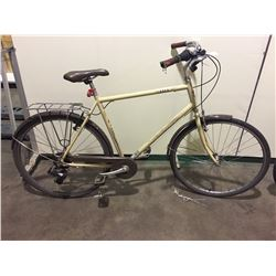 BEIGE APOLLO DECO 7-SPEED CRUISER BIKE
