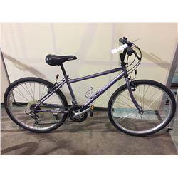 2 BIKES - PURPLE NISHIKI 18-SPEED ROAD BIKE, PURPLE NEXT 18-SPEED ROAD BIKE