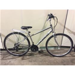 SILVER NORCO 21-SPEED CRUISER BIKE