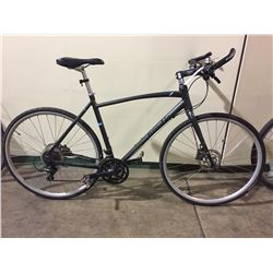 GREY BRODIE 18-SPEED ROAD BIKE W/ FULL DISC BRAKES