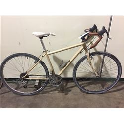 2 BIKES - BROWN NORCO 27-SPEED ROAD BIKE, SILVER SUTEKI 12-SPEED ROAD BIKE