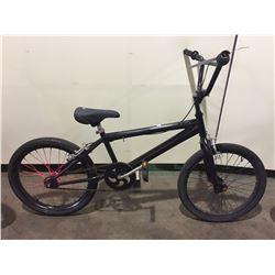 2 BIKES - BLACK NO NAME SINGLE SPEED BMX BIKE, BLACK GT SINGLE SPEED BMX BIKE
