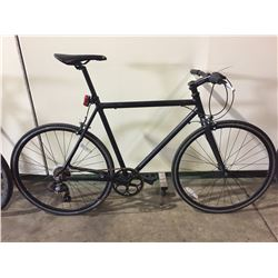 BLACK NO NAME 7-SPEED ROAD BIKE MISSING RIGHT PEDDLE