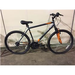 GREY SUPERCYCLE 21-SPEED FRONT SUSPENSION  MOUNTAIN BIKE