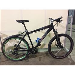 BLACK NORCO 21-SPEED FRONT SUSPENSION MOUNTAIN BIKE W/ FULL DISK BRAKES