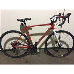 RED NORCO 18-SPEED ROAD BIKE W/ FULL DISK BRAKES