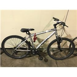 GREY TRIBAL 21-SPEED FRONT SUSPENSION MOUNTAIN BIKE
