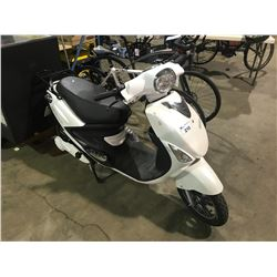 WHITE GIO ELECTRIC SCOOTER ( NO KEY, NO CHARGER )