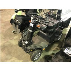 BLACK PURSUIT ELECTRIC MOBILITY SCOOTER ( NO KEY, NO CHARGER )