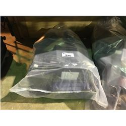 BAG OF ASSORTED HAND GUN CASES AND AMMO CASE