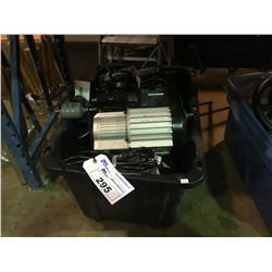 TOTE OF MODEL TRS21 RECOVERY PUMPS