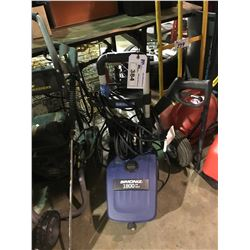 SIMONIZ 1800 PSI ELECTRIC PRESSURE WASHER WITH WAND AND HOSE