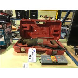 MILWAUKEE SAWZALL WITH CASE & EXTRA BLADES AND FULLER SOCKET SET