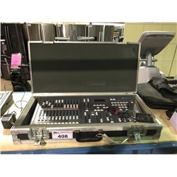 STRAND LIGHTING MX LIGHTING BOARD WITH HARD CASE AND POWER SUPPLY