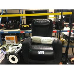 HUMAN TOUCH IJOY BLACK MASSAGE CHAIR