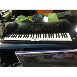 CASIO CTK-533 KEYBOARD AND WATER SADDLES (MISSING POWER ADAPTER)
