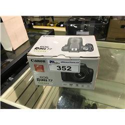 CANON EOS REBEL T7 DIGITAL CAMERA IN BOX