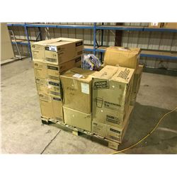 PALLET OF ASSORTED TORK HANDTOWELS, PAPER CUPS AND MORE(MUST TAKE ALL)
