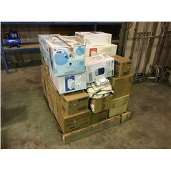 PALLET OF ASSORTED HAND TOWEL DISPENSERS AND SOAP DISPENSERS