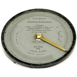Automatic Calculating Slide Rule by Car