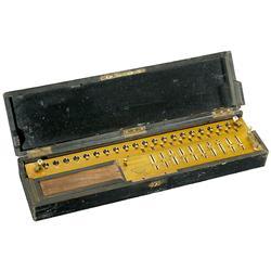 Calculating Machine Thomas Arithmomtre, 1870
