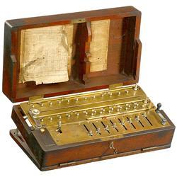 Calculator Arithmometer Tim Mod. 1, 1907