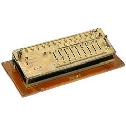 Calculating Machine Calculator X x X, 1906