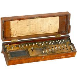 Calculating Machine Saxonia, 1895