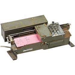 Original Key Punch by IBM, Germany