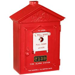 American Fire Alarm Station Gamewell