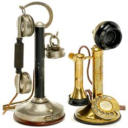 2 Candlestick Telephones