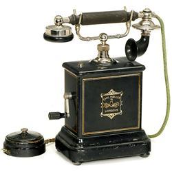 Danish Desk Telephone, c. 1910