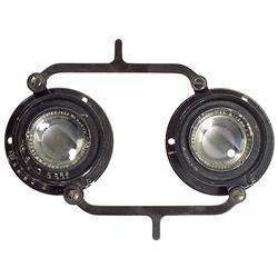 Original Stereo Lens Set Zeiss Tessar 1
