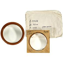 2 Early Camera Obscura Lenses by Steinh