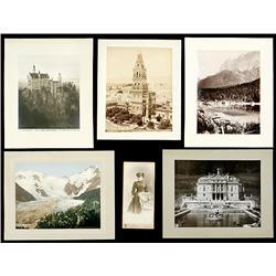 Lot: Photographs Europe, c. 1900