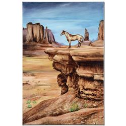 """""""The Lookout"""" Limited Edition Giclee on Canvas by Martin Katon (24"""" x 36""""), Numbered and Hand Signed"""