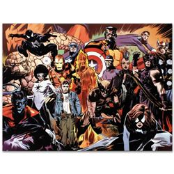 """Marvel Comics """"Marvel 1985 #6"""" Numbered Limited Edition Giclee on Canvas by Tommy Lee Edwards with C"""