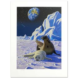 """""""The End of Innocence"""" Limited Edition Serigraph by William Schimmel, Numbered and Hand Signed by th"""
