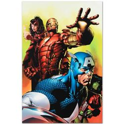 """Marvel Comics """"Avengers #501"""" Numbered Limited Edition Giclee on Canvas by David Finch with COA."""