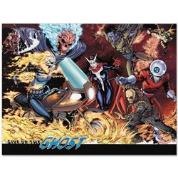 """Marvel Comics """"Avengers #12"""" Numbered Limited Edition Giclee on Canvas by Matthew Clark with COA."""