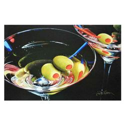 """Nobu Haihara, """"Happy Hour"""" Limited Edition Canvas, Signed and with COA."""